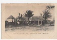 Africa, Senegal, Saint-Louis, La Poste du Capitaine de la Barre Postcard, B217