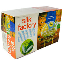 1960s Silk Worm Farm Factory NSI Natural Science Kit Vintage Old SF900 Silkworm