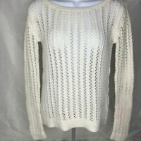 ANA a new approach size S off white sweater