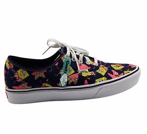Vans Comfycush Authent Spongebob Squarepants Alohabob Unisex Shoes M10.5 W12 NEW