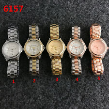 New Women's Luxury Mk 6157 Fashion Diamond Watch Strap Steel Watch