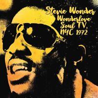 Stevie Wonder – Wonderlove Soul TV, NYC 1972 (2016)  CD  NEW/SEALED  SPEEDYPOST