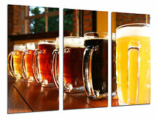 Cuadro Moderno Cerveceria, Cerveza Rubia y Tostada, ref. 26480