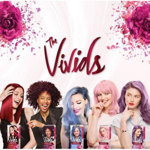 Garnier Color Sensations The Vivids Permanent Hair Dye Colour Cream