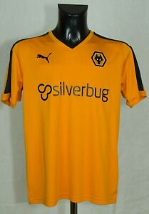 Wolverhampton Wanderers FOOTBALL SHIRT PUMA #21 WILL SIZE M VGC //