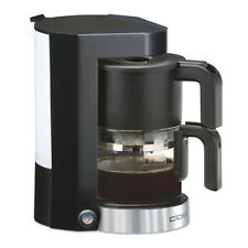 Cloer Kaffeemaschine 5990 schwarz 5 Tassen Glaskanne NEU