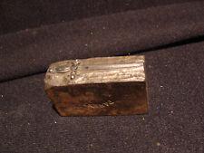 Poinçon dague sculpté en acier 19ème siècle