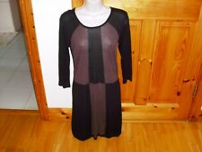 Ladies designer GREAT PLAINS fine knit dress size Small fit size 8 excellent  v