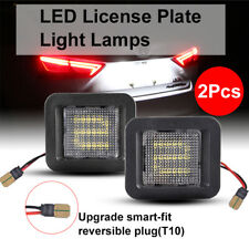 2015-2019 Ford F-150 LED License Plate Rear Bumper Lights Lamp 18-SMD Tag Lamps