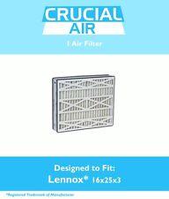 Lennox 16x25x3 Merv 8 Replacement Air Filter X0581 & Healthy Climate BMAC-12C