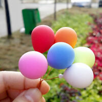 8PCS/Set 1:12 Dollhouse Miniature Balloon Birthday Party ation Foam Balloon w/
