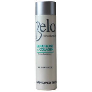 Belo Nutraceuticals Glutathione + Collagen Dietary Supplement *Belo Essentials*