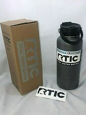 RTIC 32oz Water Bottle Wide Mouth GRAPHITE Stainless Steel RTIC NEW PRODUCT 1445