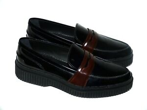 Tod's Ladies Shoes College Slippers Moccasins Black Loafers Black Eu 40,5 New