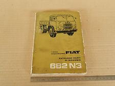 MANUALE CATALOGO PARTI DI RICAMBIO ORIGINALE 1964 CAMION FIAT 682 N3