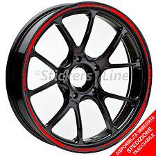 Adesivi cerchi moto Ducati Corse strisce ruote profili stickers wheels Racing 5