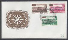 CONGO BELGE FDC 70 - ANNEE INTERNATIONALE DU TOURISME - 1967 LUXE