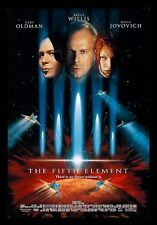 THE FIFTH 5TH ELEMENT * CineMasterpieces ORIGINAL MOVIE POSTER 1997 DS NM-M