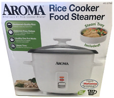 Aroma 4-14 Cup Rice Cooker and Food Steamer