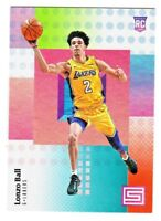 2017-18 Panini Status FOUNDATIONS PARALLEL #118 LONZO BALL RC Rookie Lakers
