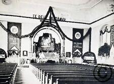 "BETHLEHEM, PA ""Interior of Moravian Church— 1891"" © 1894 Reprint Vintage Photogr"