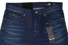 Men's ARMANI EXCHANGE A/X Blue Jeans 32 32x33 J16 STRAIGHT New NWT $120+ CooL!