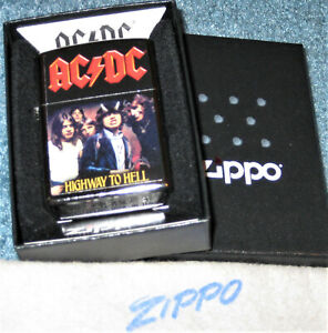 ZIPPO MUSIC Lighter AC/DC Highway To Hell  2020 AUSTRALIAN ROCK BAND New SEALED