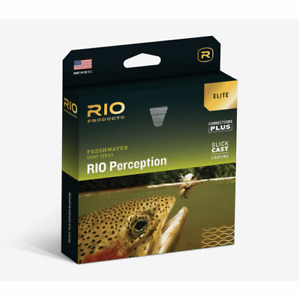 NEW ELITE RIO PERCEPTION NEW WF-6-F #6 WEIGHT FORWARD FLY LINE W/ SLICKCAST