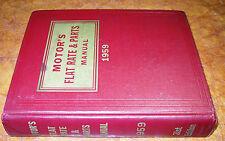 1952-59 54 55 56 57 58 PARTS MANUAL STUDEBAKER HUDSON Nash PACKARD DESOTO BUICK