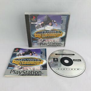 Playstation 1 PS1 - Tony Hawk's Skateboarding (Platinum)