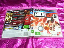 NBA 2K11 : (SONY PS3 GAME, G) NO BOOKLET