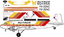 Rutaca Douglas C-47 DC-3 decals for Testors Italeri 1/72 scale