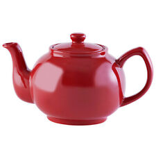 Price & Kensington Large Brights Red Porcelain Tea Coffee 6 Cup Teapot Serving