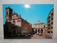 Vecchia cartolina foto d epoca di S Marzano provincia Salerno piazza veduta