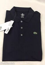 Lacoste SPORT Men's Polo Shirt New With Tags Eclipse Dark Blue Size EU 4 US S