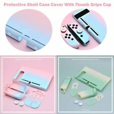 Protective Shell Case Skin Cover With Thumb Grips Cap For switch Game Console