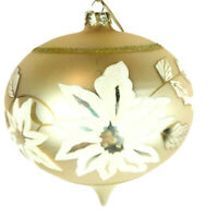 """Katherine/'s Collection Gift gold Christmas Carriage 6.5/"""" x 4.5/"""" ornament"""