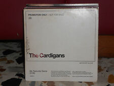 THE CARDIGANS - MY FAVOURITE GAME 3,38 cd singolo cardsleave - PROMOZIONALE