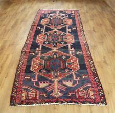 Traditional Vintage Wool Handmade Classic Oriental Area Rug Carpet 295X 105cm