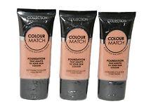 12 x Collection Colour Match Foundation Tubes | Golden | RRP £36 | Wholesale