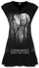 Spiral Direct FOREST WOLF Womens, Ladies, Stud Waist Mini Dress/Tunic/Native/Top