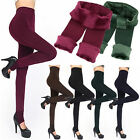 Women Thermal Thick Warm Fleece lined Fur Winter Tight Pencil Leggings Pants 3C