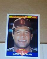 Sandy Alomar Jr. 1989 Score #630 Rookie Card RC San Diego Padres