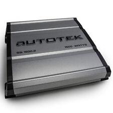 Autotek SS1500.2 Super Sport 1500W RMS Power 2-Channel Car Audio Amplifier Amp