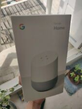 Google Home Smart Assistant - White Slate