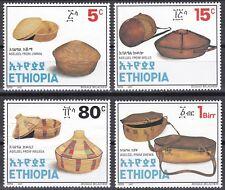 Ethiopia: 1997: Agelgeloch I (Baskets Series III),  MNH