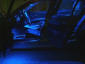 9x BLUE LED Lamps Interior Lighting Alfa Romeo 164 model year up to 1997