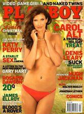 US-Playboy Dezember/12/2008  CAROL ALT