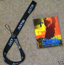 Justin Timberlake Justified 2003 Tour Lanyard and Pass