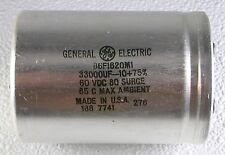 New Electrolytic Capacitor GE 33000 MFD/UF 60V DC